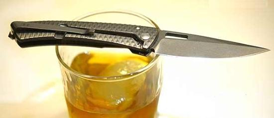Сравнительные размеры повседневного ножа DPX Aculus knife