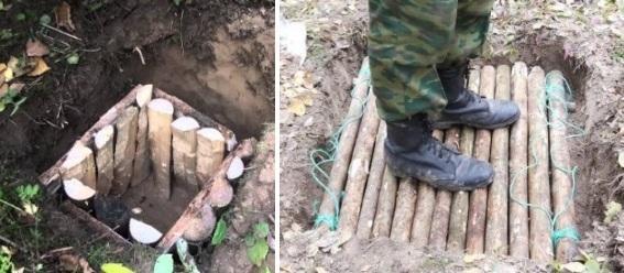 Как сделать схрон или тайник в лесу своими руками