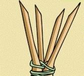 Как сделать копье-гарпун с 4 наконечниками