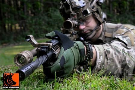 Тактильные стрелковые перчатки PIG FDT Bravo FR