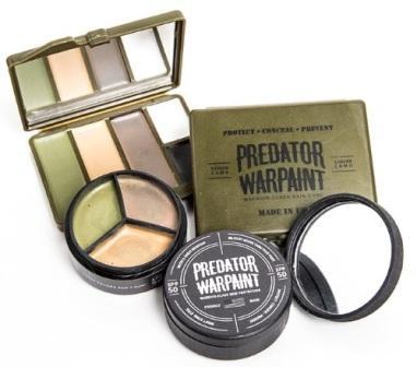 Комплект камуфляжной краски спецназа PredatorWarpaint
