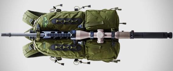 Огневая точка для стрельбы - рюкзак Tenzing TTSP14