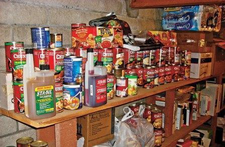 Продовольственные резервы (НЗ) для команды выживания
