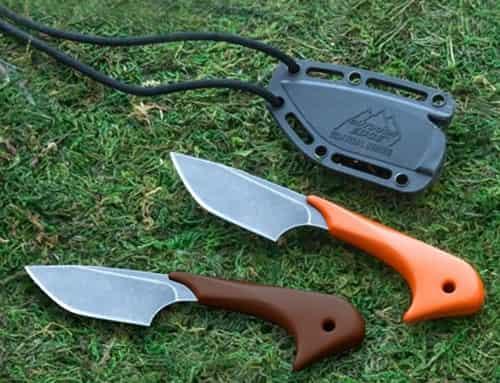 Компактный резервный нож Hossom Le Duck