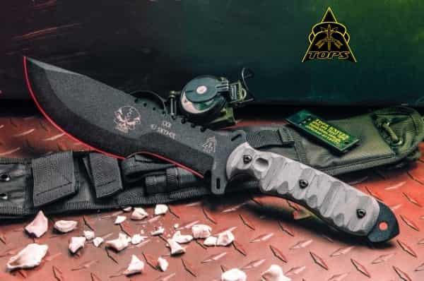 Экстремальный нож для выживания Tops Knives SXB