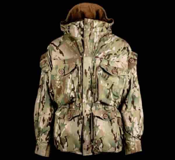 Камуфляжная куртка с капюшоном Booth Jacket