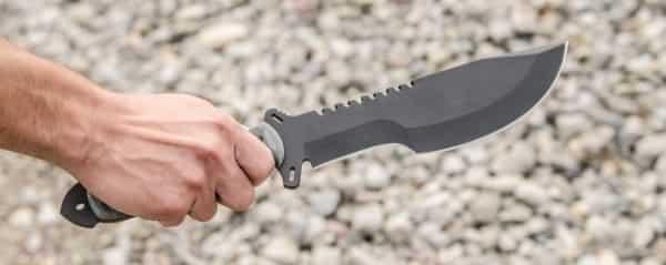 Большой нож для выживания Tops SXB