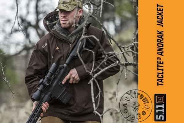 Тактическая куртка-анорак 5.11 Tactical Taclite