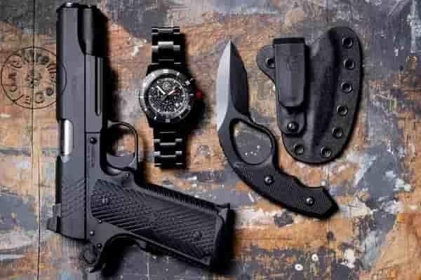 Тактические часы с тритиевой подсветкой MK15 Time Piece