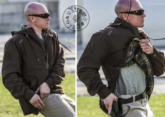 Тактическое применение куртки 511-TacLite