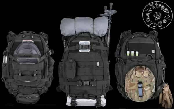 Способы применения патрульного рюкзака  FAST Pack EDC 2015