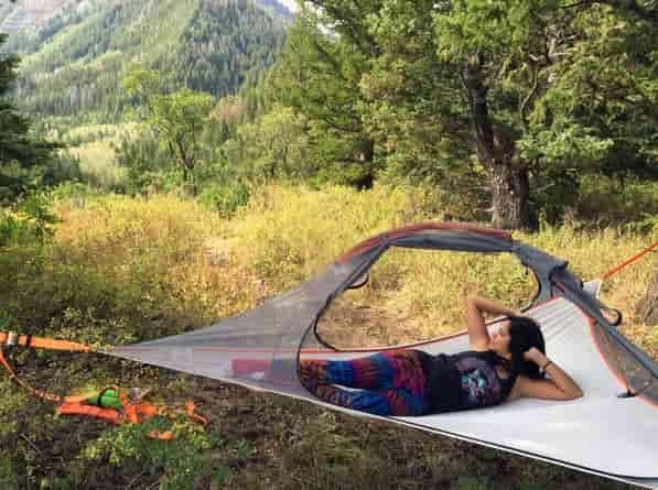 2-местная 4-сезонная подвесная палатка Tentsile Flite