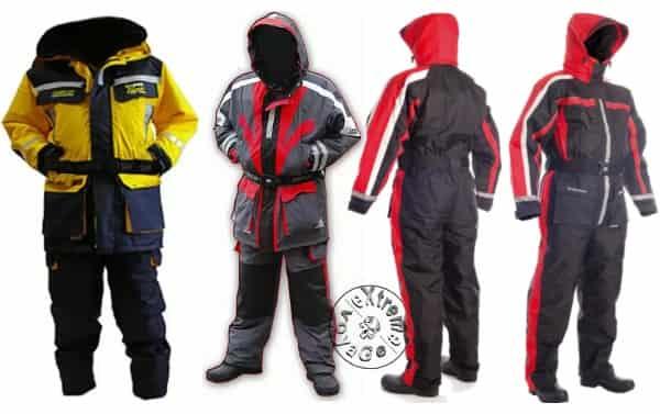 Варианты костюмов-поплавков для зимней рыбалки