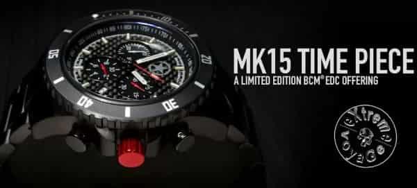 Вид тритиевых наручных часов MK15 Tritium Time Piece