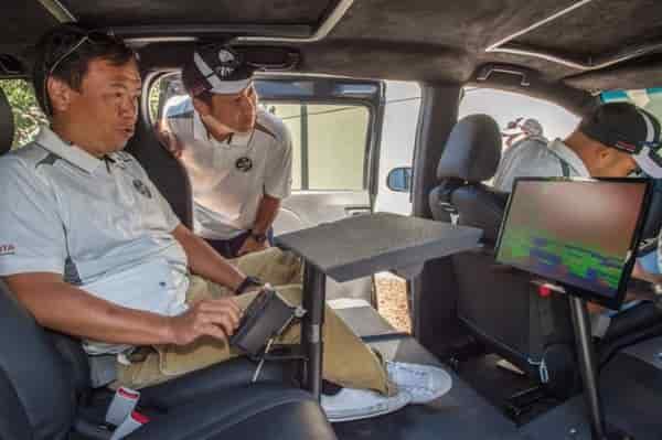 Внутренне устройство Toyota UUV