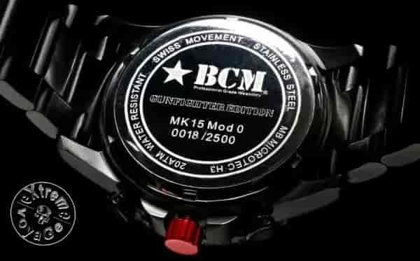 Гравировка в часах BCM MK15 Time Piece