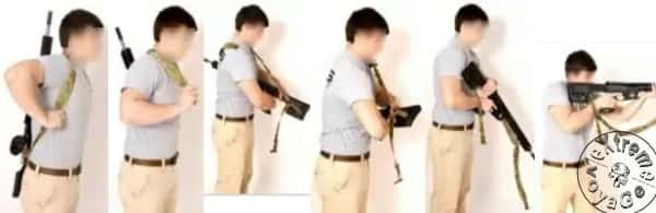 Оперативное использование слинг-рюкзака Biathlon Rifle Sling