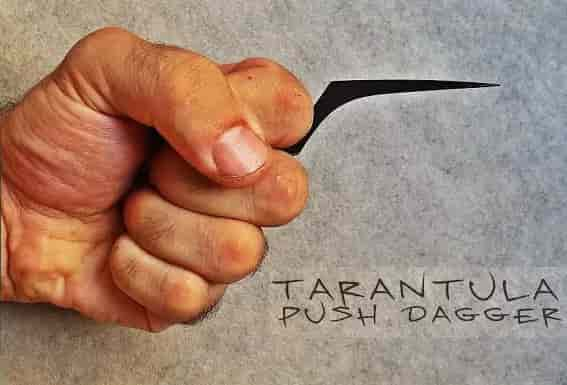 Применение Tarantula Push Dagger