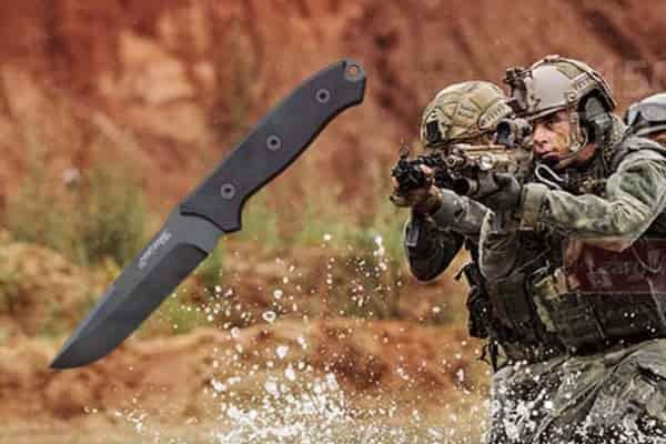 Элитный нож спецназа FirstEdge 5150 из стали ELMAX