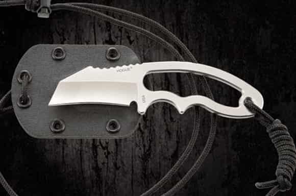 Нагрудный нож для сильных и выносливых Hogue EX-F03