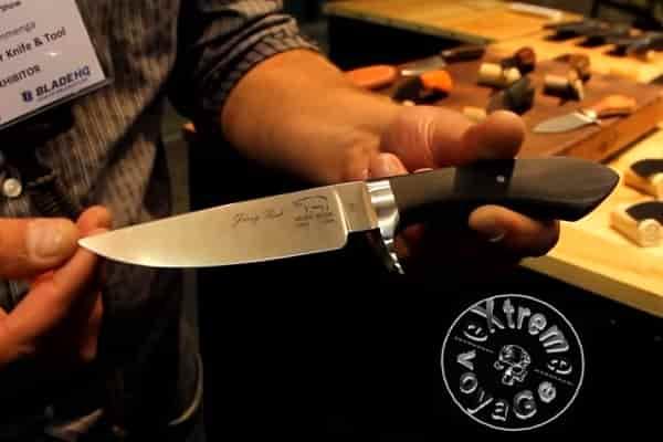 Универсальный охотничий нож с упором Sendero Classic