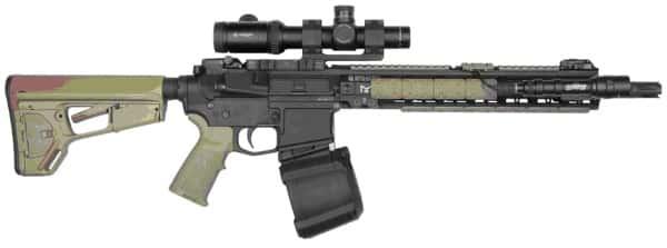 Магазин-барабан PMAG D-60 сделает из автомата пулемет