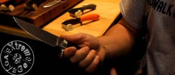 Походно-охотничий нож Sendero Classic Knife можно использовать для самозащиты