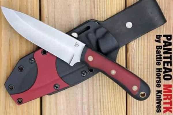 Мощный комбинированный нож для выживания Panteao MRTK