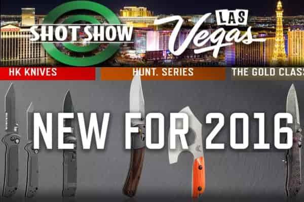 SHOT Show 2016: серия клинков от компании Benchmade
