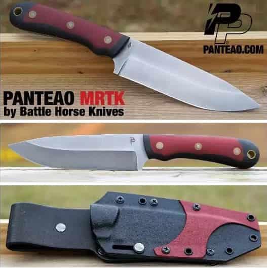 Нож для бушкрафта Panteao MRTK