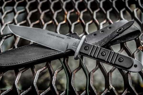 Тактический боевой нож TOPs Knives Desert Nomad
