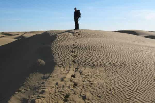 Особенности передвижения по пустыне