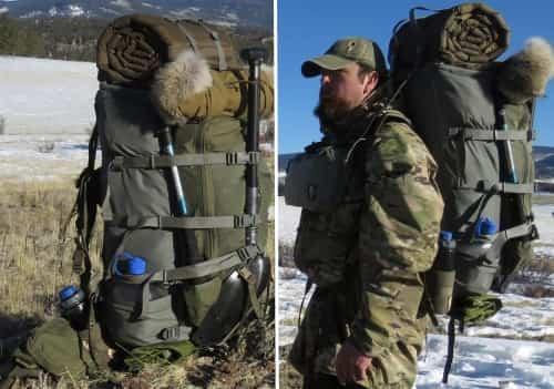 Внешний вид рюкзака для охоты и путешествий qui-Ya Backpack