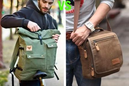 Путешествие по городу: наплечная сумка или рюкзак