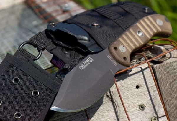 Нож для выживания Multi-Scenario KnifeB с двойными ножнами