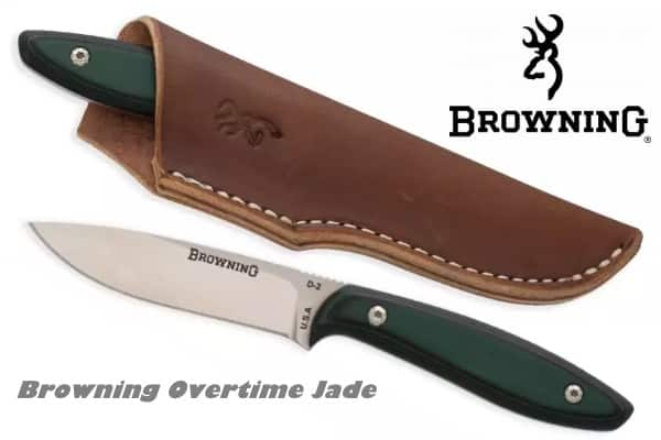 охотничий нож Browning Overtime Jade