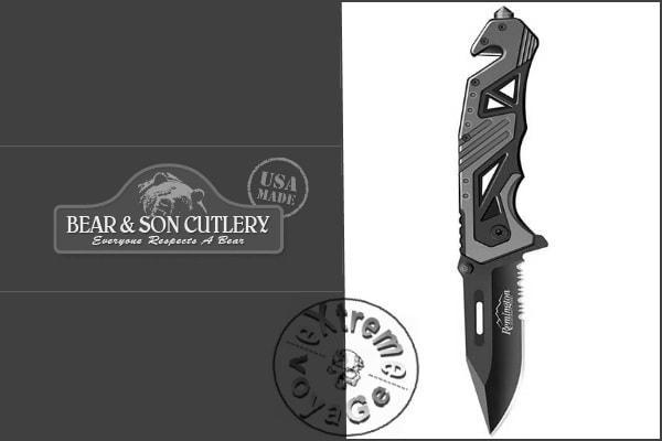 Складной нож для спасения при ЧС Remington R11517 RK