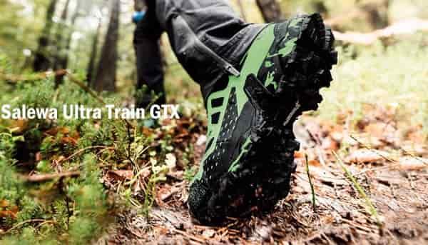 Горные беговые кроссовки Salewa Ultra Train GTX