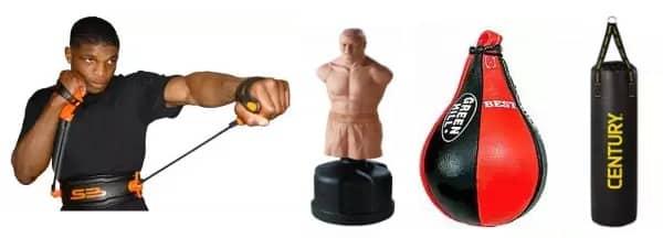 Виды тренинга и тренажеров в боксе