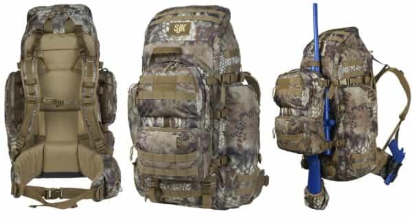 Рюкзак для охоты  SJK Bounty 2.0 со стабилизационной платформой