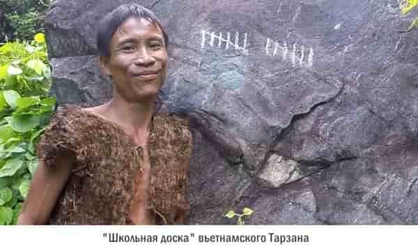 Ho-Van-Lang учится считать в джунглях