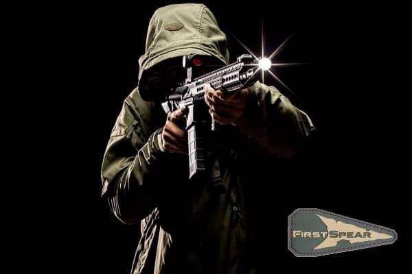 Тактическая куртка с увеличенным капюшоном  FirstSpear Wind Cheater