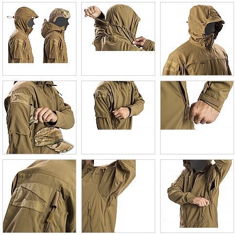 Регулировка тактической куртки FirstSpear Wind Cheater