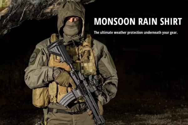 Боевая куртка-рубашка под бронежилет Monsoon Rain Shirt