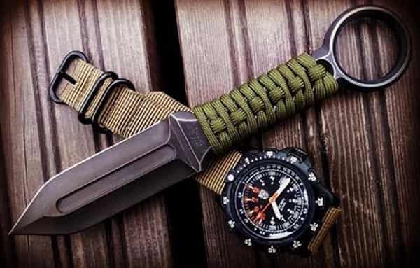 Боевой нож для армии Австралии Nomad Mk2
