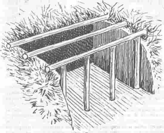Как построить землянку: основы