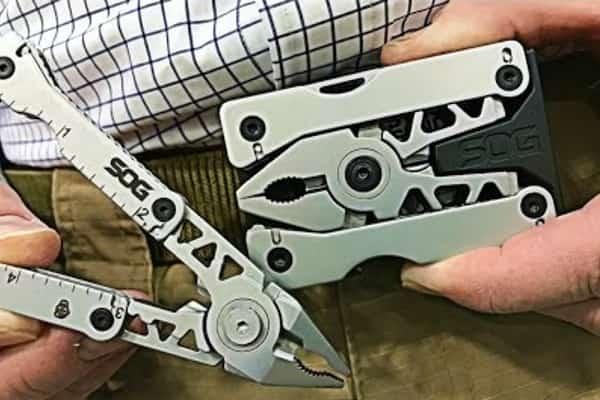 Компактные пряжки-мультитулы SOG Sync I и II