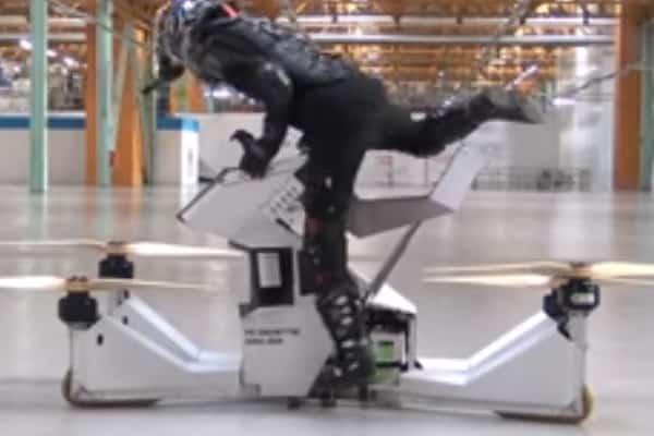 Российский пилотируемый дрон Hoversur Scorpion 3