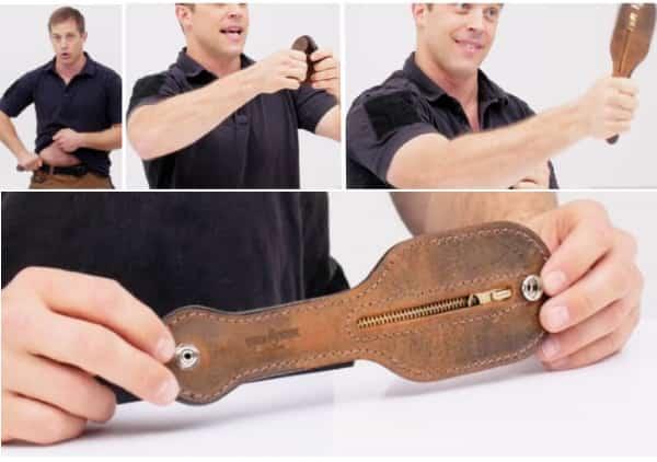 Скрытое оружие в EDC: чехол-кобура для самозащиты