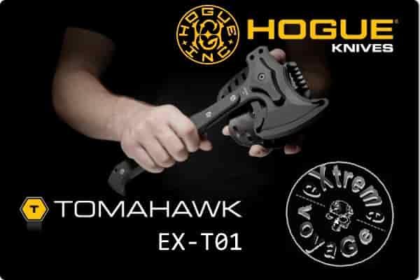 Тактический томагавк-сборник для выживания Hogue EX-T01
